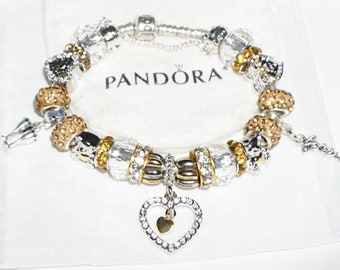 I Love you, Just Married, - Authentic Jared Pandora bracelet