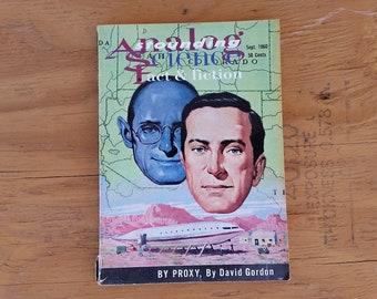 Astounding/Analog Science Fact & Fiction magazine Sept 1960 PULP ART