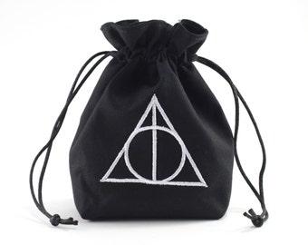 Master of Death Dice Bag, Drawstring Bag