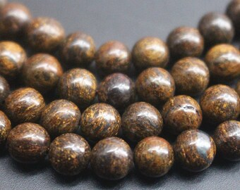 4mm 6mm 8mm 10mm 12mm Bronzite beads,15  inch per strand.