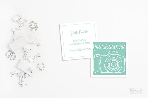 Photography business cards square business cards printable photography business cards square business cards printable business card double sided business cards moo business card design photographer reheart Images