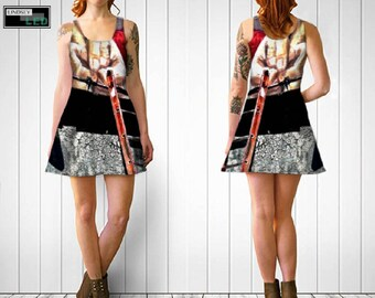 Arms With Ladder Flare Dress
