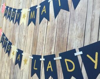 Ahoy Matey! It's a Lady! banner