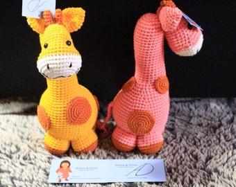 Amigurumis, stuffed, plush, animal, giraffe