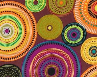 Michael Miller Norwegian Woods  AURORA BOREALIS Forest fabric - 1 3/4 yards - last piece