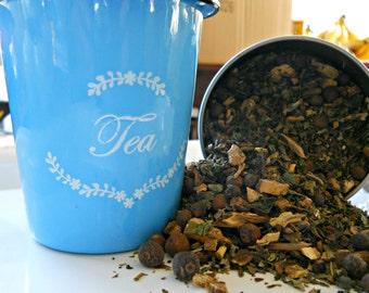 Gentle Cleansing Herbal Tea - Detox Loose Leaf Tea - Healthy Herbal Tea - All Natural Herbal Tea - Caffeine Free Tea - Boondock Enterprises