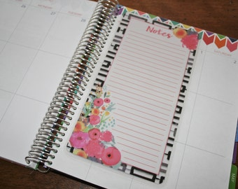 Dashboard (Size B), Coil Clip In, Laminated, Double Sided  / Erin Condren Life Planner, Limelife, Plum Paper (B22)
