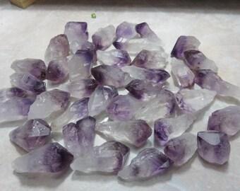 Amethyst Point Healing Crystal Healing Stone Chakra Reiki Energy lot c