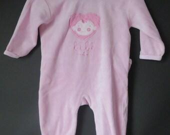 326 Pajamas 6 months pink new Ebondy