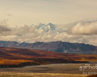 Peak of Denali - Autumn - Denali National Park