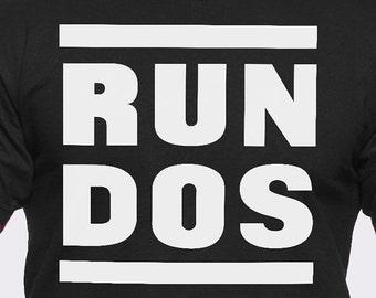Run DOS T-Shirt