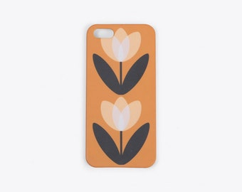 Tulip iPhone Case in Mustard Yellow