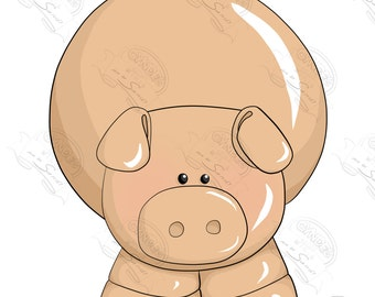 Pig Colored