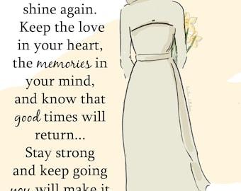 Your Sun Will Shine Again - Cards - Art for Women - - Inspirational Art for Women -