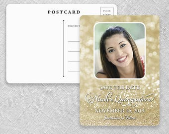 Mariana - Postcard - Quinceanera Save-the-Date