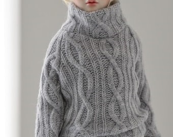 Cable Knit for Dollshe 8B