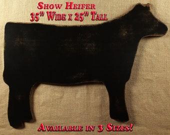 Show Heifer Show Steer Stock Show Show Cattle Livestock Show Farmhouse Decor Livestock Steer Stockshow Farm Girl 4H Gift FFA Gift Farm Ranch
