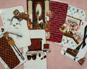 LV, Louis Vuitton Planner dividers/ A5/ Personal/ Planner Dashboard / Planner Accessories / Planner inserts / Filofax / Planners