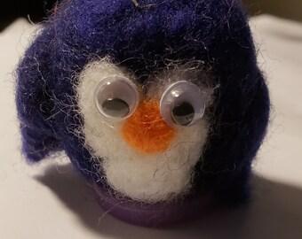 Priscilla the purple penquin