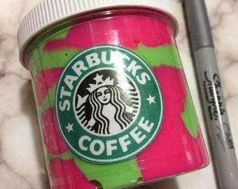 Large Dragon Frappuccino Slime - Starbucks Slime