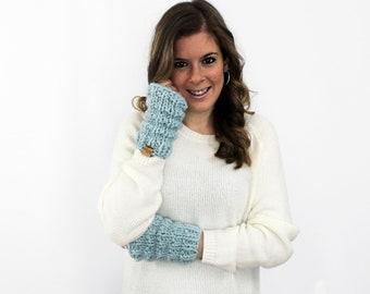 Fingerless Gloves Arm Warmer Glacier- Solomon Gloves