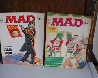Two Vintage MAD Comic Books
