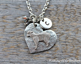 Sheep Necklace, Sheep Jewelry, Lamb Necklace, Pet Sheep, Sheep Gift, Sheep MOM