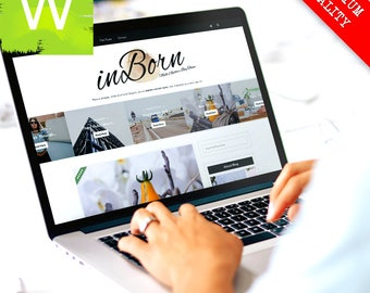 WordPress Blog Theme - Clean And Responsive WordPress Blog - WordPress Theme - WordPress Template - Blog - Blogs - WordPress Blogs Template