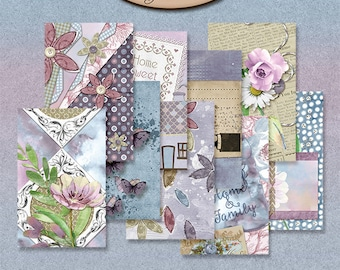 Dashboard Pocket, Field Notes, Travelers Notebook, Filofax, Daily Planner: Memories Of Home B