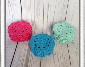 Set of 6 Cotton Coasters