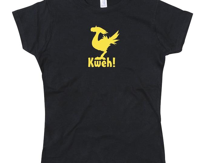 Ladies Chocobo Kweh Tshirt