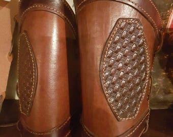 Brown Leather Slings