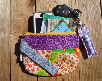 Wristlet, clutch, Iphone Wallet