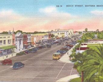 Daytona Beach, Florida - Vintage Postcard - Postcard - Unused (UU)