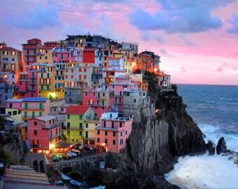 Cinque Terre Art, Italy Photography, Italian Village Vernazza Photo Monterosso Manarola Riomaggiore ita9