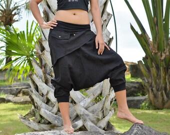 Nuevo estilo, Pantalones de harén, pantalones de Harem, pantalones Hippie, hombres, mujeres, hecho a mano