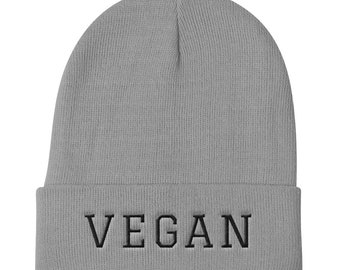 Vegan Knit Beanie - Men's - Women's - Kids