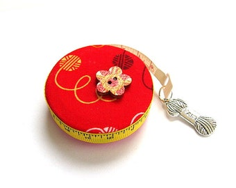 Measuring Tape For Crochet and Knitting Lovers Pocket Retractable Tape Measure