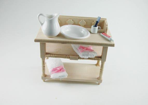 Washbasin, for the doll's house, the Dollhouse, Dollhouse miniatures, cribs, miniatures, Model Building # v 22085