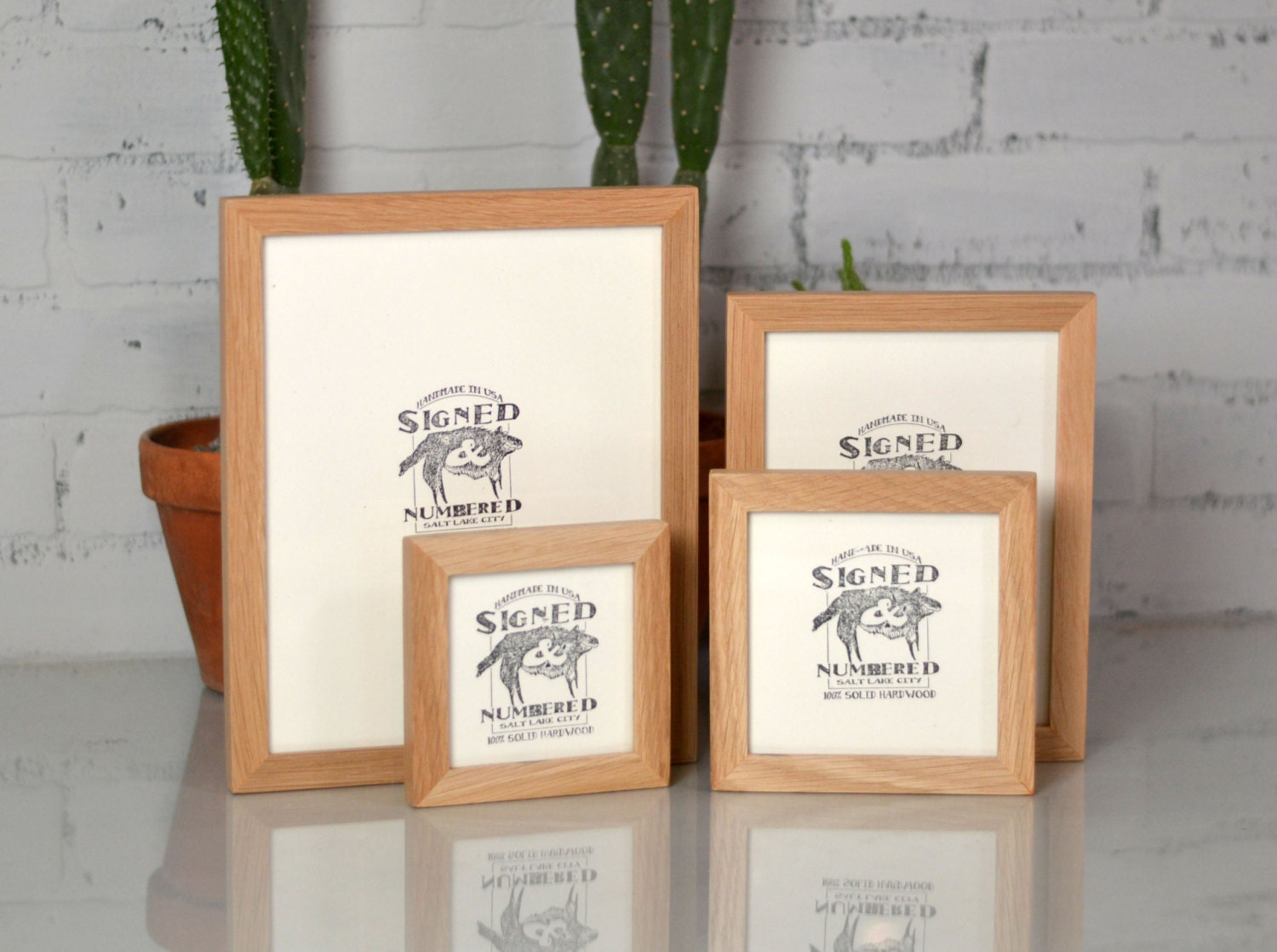 Signed and numbered basic picture frame built from natural oak signed and numbered basic picture frame built from natural oak choose frame size 4x4 4x6 5x5 6x6 5x7 6x8 7x7 8x8 8x10 jeuxipadfo Gallery