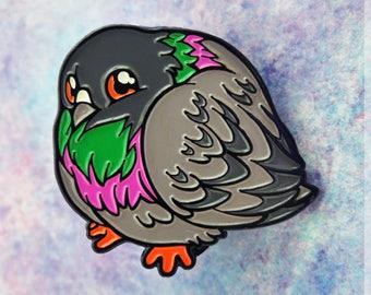 Pigeon Enamel Pin - Borbs