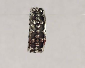 Toe Ring Sterling Silver Adjustable