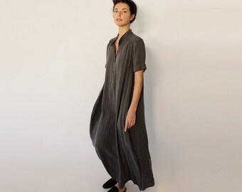 Long Flowy Dress, Maxi Striped Dress, Slit Dress, Womens Sexy Dress, Casual Maxi Dress, Evening Dress, Anniversary Dress, Spring Style