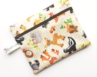 Medium Woodland Creatures Reusable Baggie