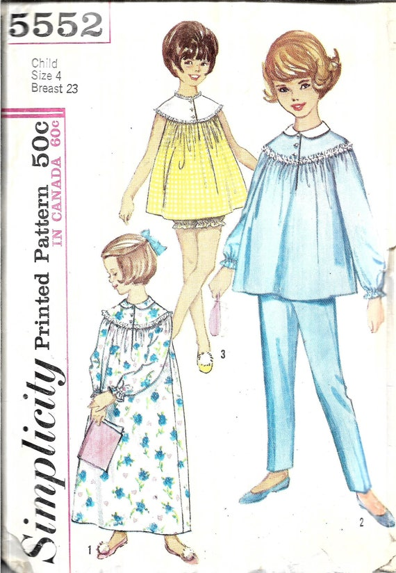 Old fashioned nightgown pattern 77