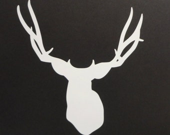 Deer silhouette Decal