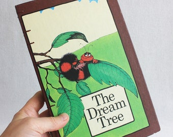 Vintage Book Journal / Recycled Old Book / The Dream Tree Dream Journal Rebound Journal Blank Book by PrairiePeasant