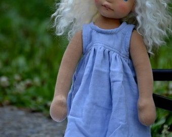 PDF Tutorial for Handmade Wefted doll wigs