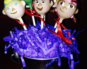 Jake and the Neverland Pirates Cake Pops
