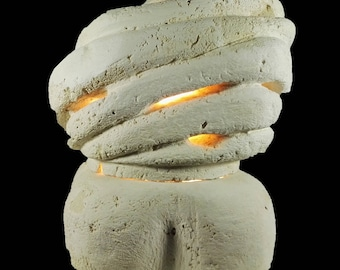 FLOWER Stone lamp-Stone Table lamp